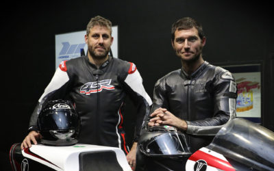 Guy Martin joins WMC at Mira Wind Tunnel Test with his Project 300 Motorcycle
